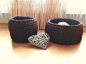 Košíky - Košíky - čokoládové sny - 8264468_