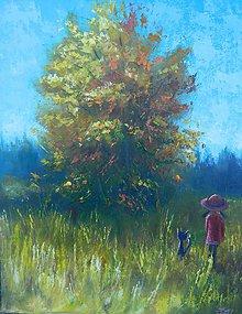 Obrazy - Ve vysoké trávě - 8265343_