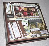 - Luxusný fotoalbum k narodeninám muža (kronika)  - 8264562_