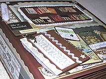 Papiernictvo - Luxusný fotoalbum k narodeninám muža (kronika) - 8264565_