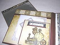Papiernictvo - Luxusný fotoalbum k narodeninám muža (kronika) - 8264574_