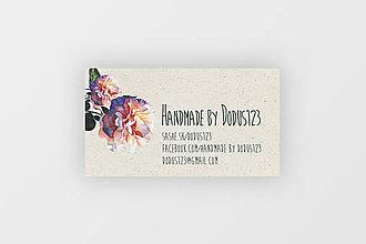 Grafika - Vizitky Handmade by Dodus - 8263418_