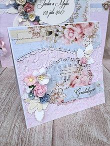 Papiernictvo - Svadobná pohľadnica - 8265730_