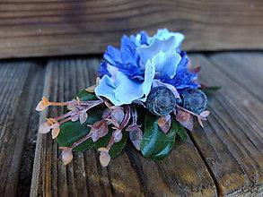 Ozdoby do vlasov - modré z nebes - 8264637_