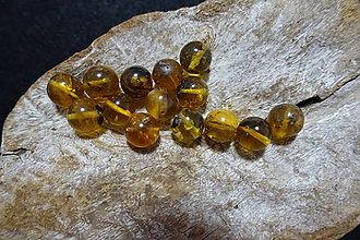 Minerály - Jantár Zlatý 11mm - 8266027_