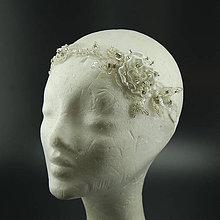Ozdoby do vlasov - Great Gatsby Rose ... čelenka - 8267326_