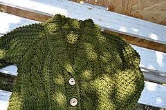 Detské oblečenie - Svetrík Army - 8267590_