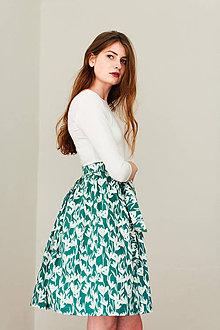 Sukne - Zavinovací sukně Flower Joungle - 8266771_