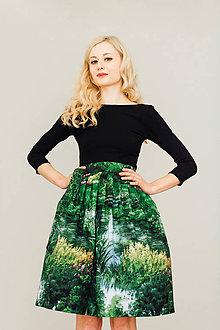 Sukne - Zavinovací sukně Krajina - 8266778_