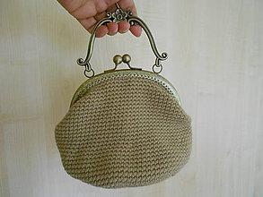 Kabelky - Háčkovaná kabelka RETRO - 8266855_