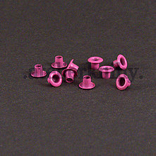 Pomôcky/Nástroje - Priechodky 7,5/4mm ružové - 8268426_