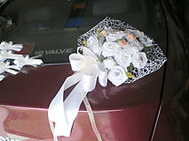 Iné doplnky - Ozdoba na svadobné auto - 8267861_
