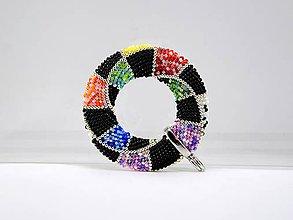 Náhrdelníky - Háčkovaný prívesok Donut Diamant - 8268661_