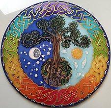 Dekorácie - Strom života a splnených prianí - 8268674_