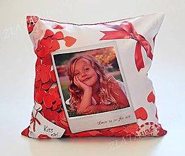 Úžitkový textil - Saténový vankúš - 8267416_