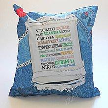 Úžitkový textil - Vankúš v tomto dome - 8267562_