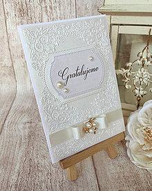 Papiernictvo - Svadobná pohľadnica - 8266728_