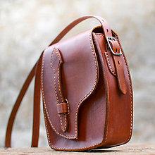 Kabelky - Rozprávková kabelka v karamelovej farbe - 8268076_