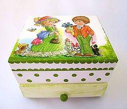 Krabičky - Komodka Simonka - 8271076_