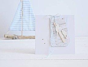 Papiernictvo - Pozdrav svadobný - 2 lastovičky - 8270733_