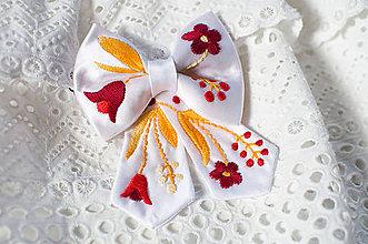 """Náhrdelníky - Dámsky motýlik """"lúka"""" - 8269099_"""