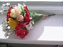 """Dekorácie - Kytička kvetov """"...žiarivá..."""" - 8269264_"""