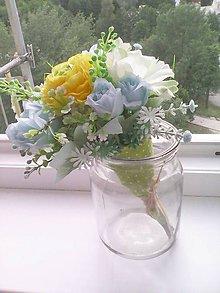 Dekorácie - Kytička kvetov