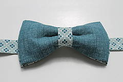 Doplnky - AKCIA Set modrý vzor opačný - 8269920_
