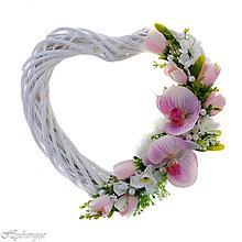 Dekorácie - Srdiečko svadobné - 8268899_