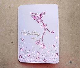 Papiernictvo - Wedding day /hearts/ - 8269907_