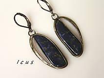 Náušnice - Náušnice Lapis Lazuli - Lavilerie - 8269535_