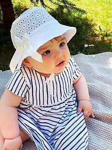 Detské čiapky - Detský klobúčik madeira - 8269245_