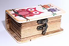 Krabičky - Sovičková mini - pre najmenšie slečny - 8269044_