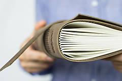 Papiernictvo - Kožený zápisník Kristofer - 8269587_