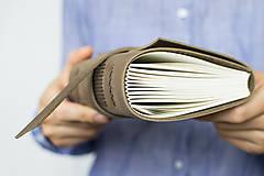 Papiernictvo - Kožený zápisník Kristofer - 8269588_