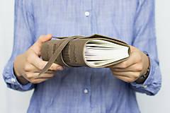 Papiernictvo - Kožený zápisník Kristofer - 8269589_