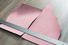 - Zbytkový nubuk ružový - 8270154_