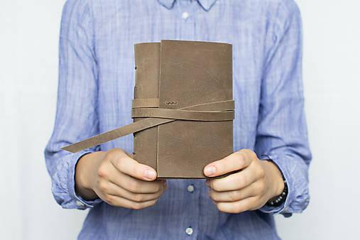 Kožený zápisník Kristofer