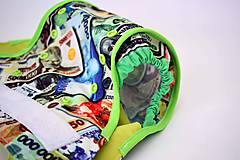Detské doplnky - Vrchné PUL plienkové nohavičky s krídelkami