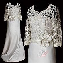 Šaty - Svadobné šaty dlhé III - 8270299_