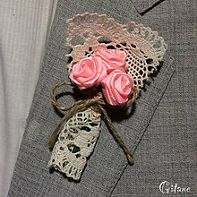 Pierka - Veľké svadobné pierka Village - svetlo ružové - 8270362_