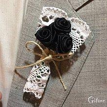 Pierka - Veľké svadobné pierka Village - čierne - 8270880_