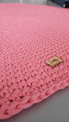Úžitkový textil - Koberec okrúhly - hooked - 8270737_