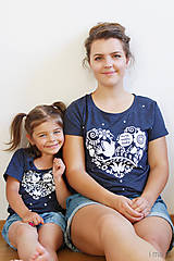 Detské oblečenie - Súprava pre mamu a dcéru VNL - 8270864_
