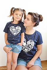 Detské oblečenie - Súprava pre mamu a dcéru VNL - 8270870_