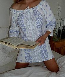 Košele - Košeľa Bordúra Folk biela - 8271862_