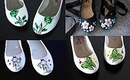 Obuv - maľovanie na vlastné topánky - 8271960_