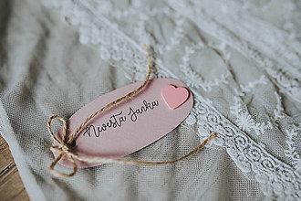 Darčeky pre svadobčanov - Svadobné menovky II - 8272022_