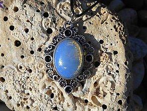 Náhrdelníky - blue opalit for you - 8272204_