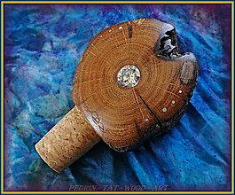 Pomôcky - 57. Drevená Zátka na Vino - DUB - ZIRKON - 8271567_